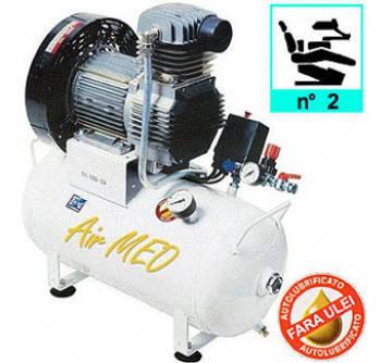 Компрессор безмаслянный медицинский AIRMED 150-24 FIAC  (на 2 установки), фото 2