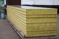 Сендвіч панелі стінові 100 мм МВ