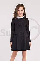 Шкільна сукня для дівчинки: Енрика чорний