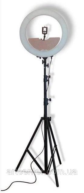 Лампа кольцевая для визажиста, фотографа (модель Мультисвет ПРЕМИУМ)