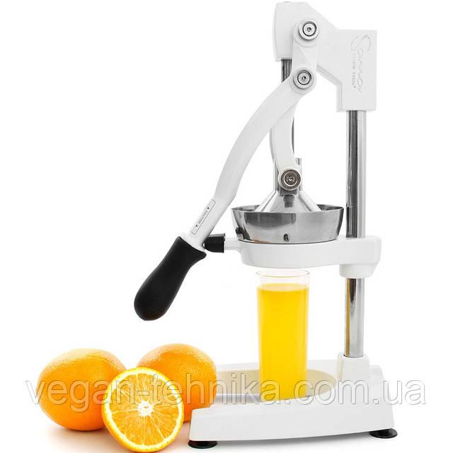 Пресс для цитрусовых и гранатов Sana Citrus Press White