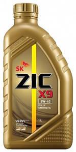 Масло моторное ZIC X9 5W-40