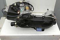 """Двигатель GY6-80 (длинный вариатор) 12"""" колесо."""