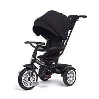 Трехколёсный велосипед BENTLEY 6 in 1 (черный, красный, синий)