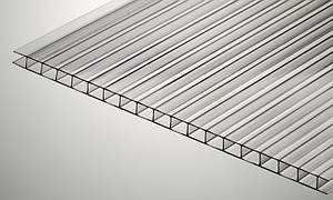 Поликарбонат сотовый Polygal СТАНДАРТ 4 мм 2100x6000 мм прозрачный