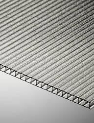 Поликарбонат сотовый Polygal СТАНДАРТ 6 мм 2100x6000 мм прозрачный