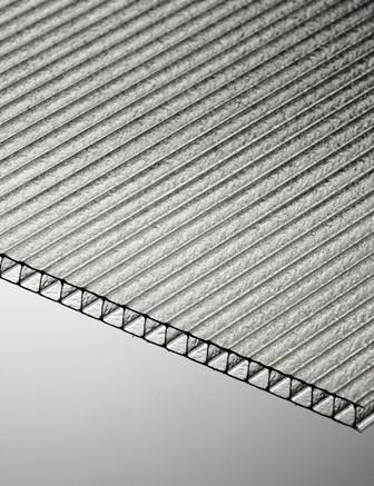 Полікарбонат стільниковий Polygal СТАНДАРТ 8 мм 2100x6000 мм прозорий
