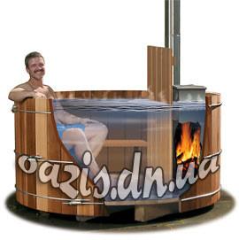 Офуро японская баня из дуба СТАНДАРТ, для 5ти-6ти человек