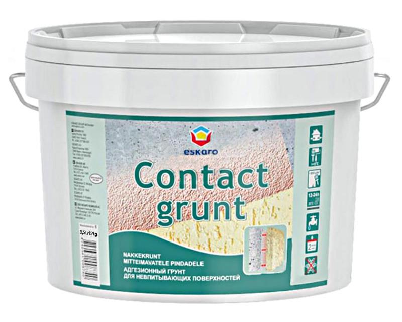 Грунт з кварцовим піском ESKARO CONTACT GRUNT адгезійний 12кг
