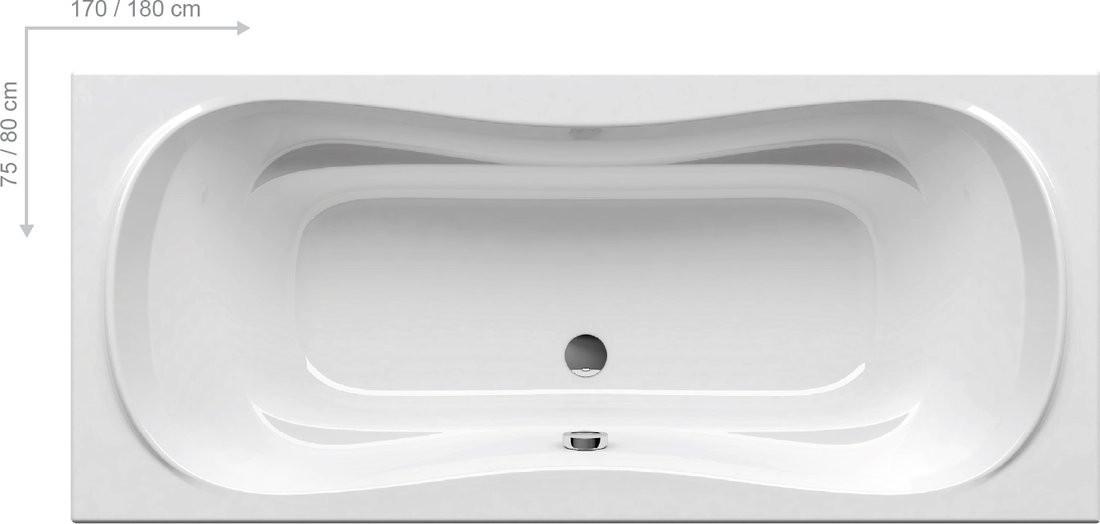 Ванна  Ravak Campanula II 180x80