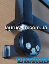 Електротена TERMA MEG1 MS BLACK: регулятор 30-65С + маскування дроту (без розетки) + LED. Потужність 1000W