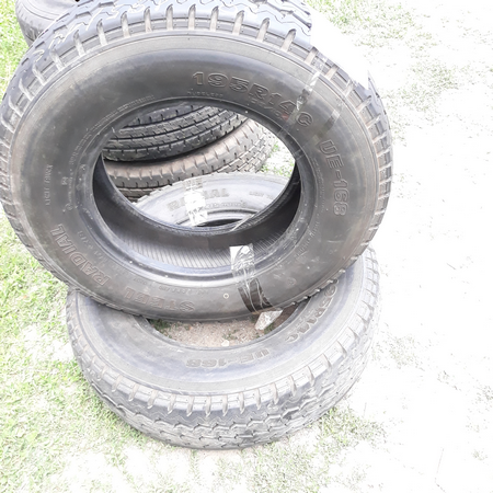 Бусовские шины б.у. / резина бу 195.r14с Steel Radial