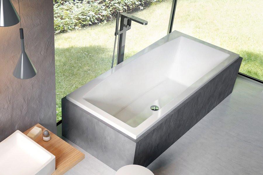 Прямоугольная ванна Ravak Formy 02 180 x 80 snowwhite