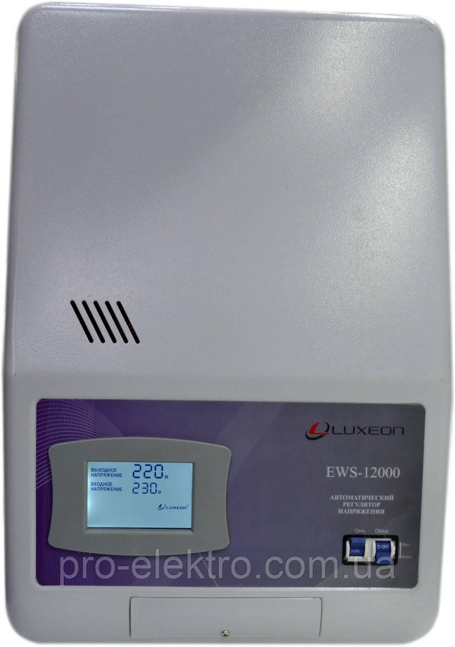 Стабилизатор напряжения Luxeon EWS 12000 SERVO