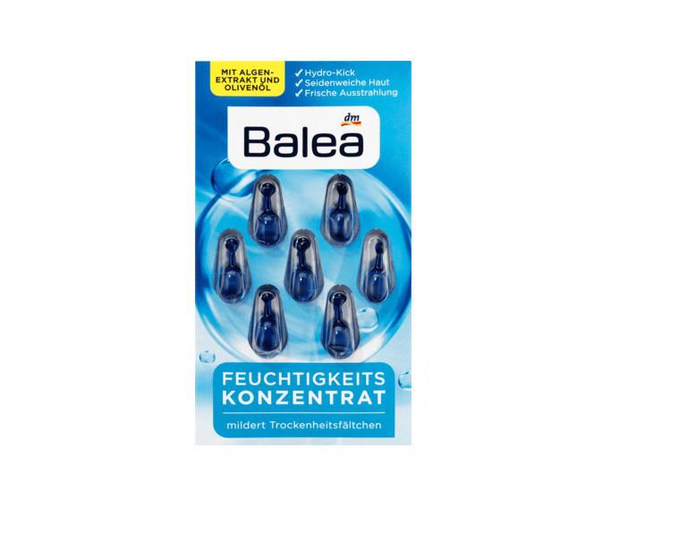 Капсулы для лица Balea Konzentrat Feuchtigkeit  7шт