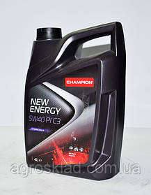 Масло моторное Champion New Energy 5W40 PI C3, 4л
