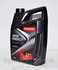 Масло моторное Champion New Energy 5W40 PI C3, 5л