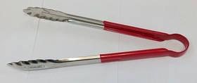 Щипцы нерж. с виниловой ручкой 30 см, Индия