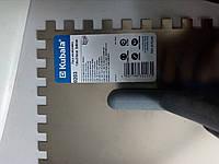 Терка з нержавіючої сталі 130х270,зуб 8х8мм