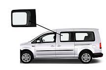 Боковое стекло длинная база переднее левое Volkswagen Caddy 2004-2015