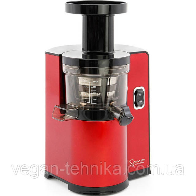 Шнековая соковыжималка Sana Juicer by Omega EUJ-808 Red