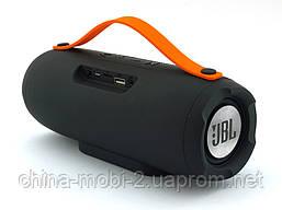 JBL Charge E13 10W копия Explorer, блютуз колонка с МП3 и ФМ, серая, фото 3