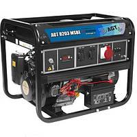 Однофазный бензиновый генератор AGT 8203 MSBE (6.3 кВт)