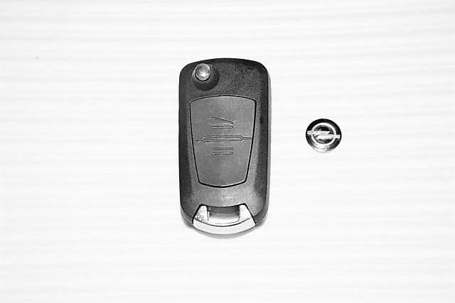 Корпус выкидного ключа Opel (Опель) 2 кнопки для переделки Combo, Комбо Комбо, Корса С, Мерива, Агила 2 кнопки