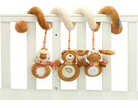 Подвесная музыкальная развивающая игрушка спираль