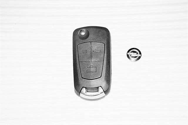 Копия Корпус выкидного ключа Opel (Опель) 3 кнопки для переделки