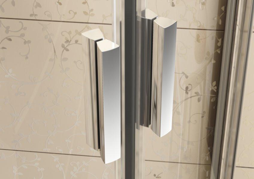 Душевая дверь Blix BLDP2-120 R-L белый+transparent