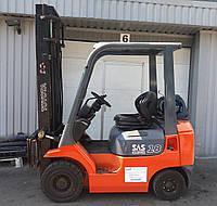 Навантажувач (Погрузчик) газовий Toyota 42-7FGF18 бу