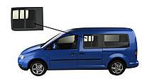 Боковое стекло длинная база с форточкой левое Volkswagen Caddy 2004-2015