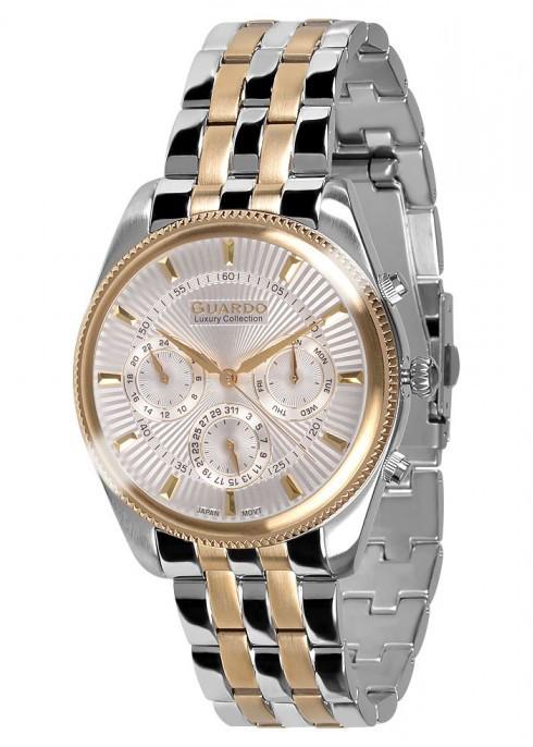 Чоловічі наручні годинники Guardo S01867(m) GsW