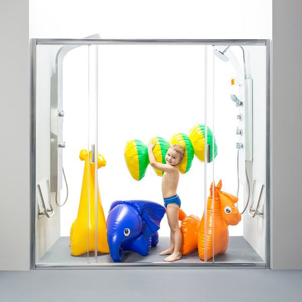 Душевая дверь Ravak Blix BLDP4-160 белый+Transparent