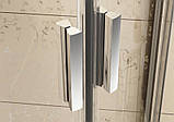Душевая дверь Ravak Blix BLDP4-120 полир.алюм.+Grafit, фото 2