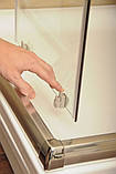 Душевая дверь Ravak Blix BLDP4-120 полир.алюм.+Grafit, фото 4