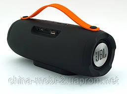JBL Charge BoomBox E13 10W копия Explorer, блютуз колонка с МП3 и ФМ, Malta красная с синим, фото 2