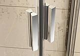 Душевая дверь Ravak Blix BLDP4-160 полир.алюм.+Grafit, фото 2