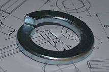 Шайба М18 пружинная оцинкованная ГОСТ 6402-70