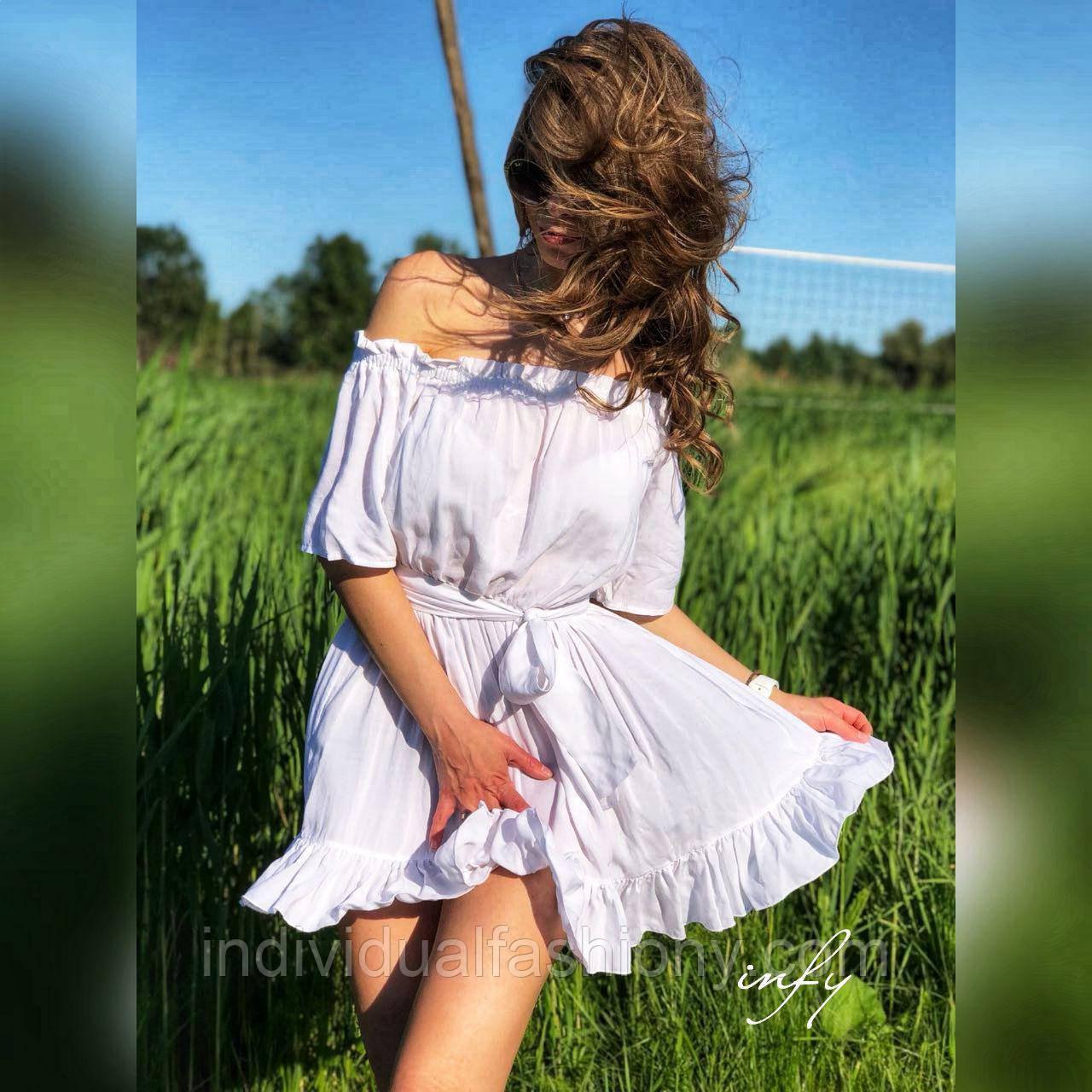 Платье на плечи
