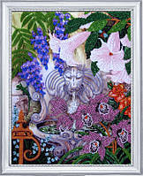 Набор для вышивки бисером Фонтан в саду БФ 229