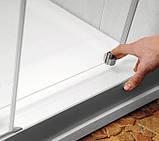 Душевые двери Ravak Rapier NRDP-4-160 белый/прозрачное, фото 2