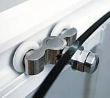 Душевые двери Ravak Rapier NRDP-4-160 белый/прозрачное, фото 3