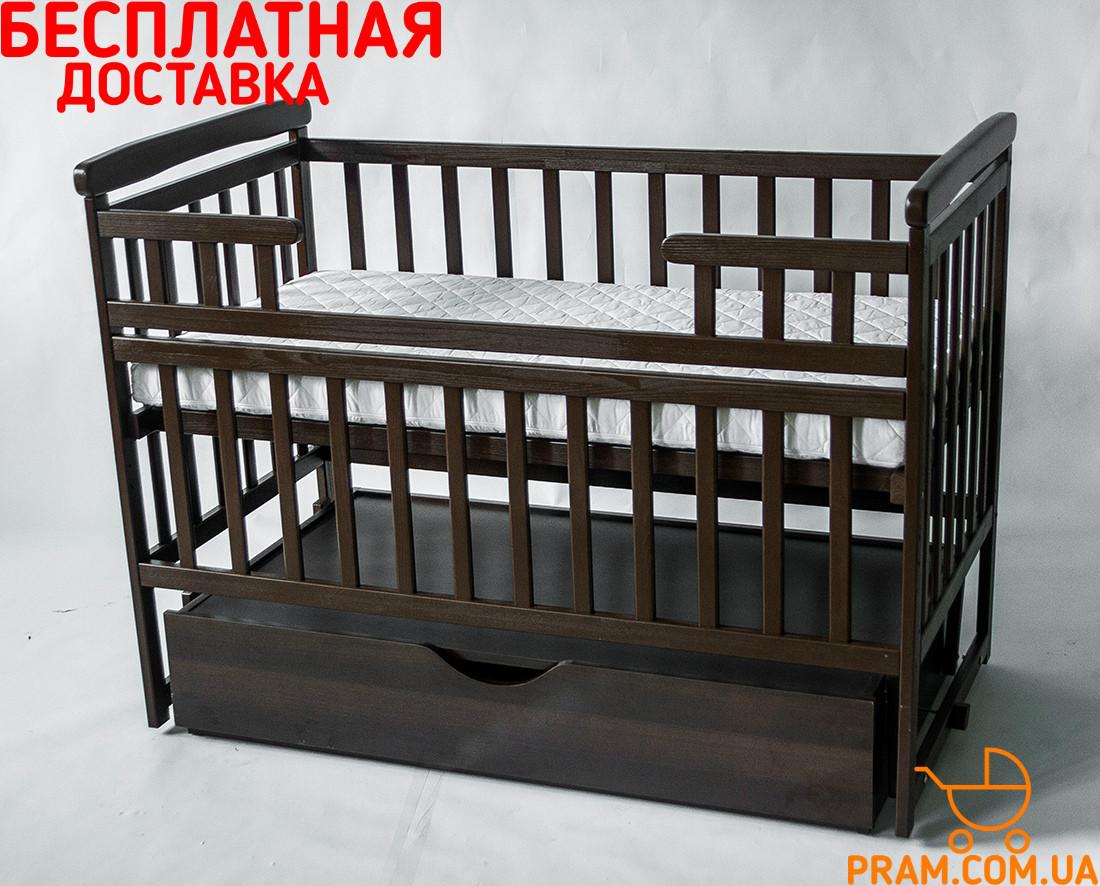 Детская кроватка Deson DREAM Венге