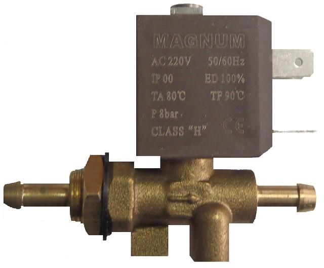 Клапан газа 220в