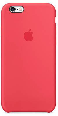 Чехол накладка xCase для iPhone 5/5s/SE Silicone Case светло-малиновый (red raspberry)