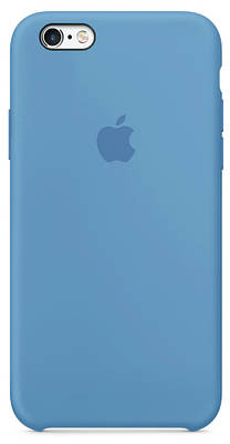 Чехол накладка xCase для iPhone 5/5s/SE Silicone Case denim blue