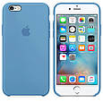 Чехол накладка xCase для iPhone 5/5s/SE Silicone Case denim blue, фото 2
