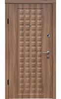 Двери входные Zimen Эконом - Кастли (вишня малага тесненая) 960*2030 мм., фото 1